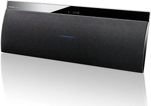 Panasonic SC-NE3EG-K Wireless Lautsprecher (40 Watt RMS, Bluetooth, DLNA, Airplay, AUX) schwarz